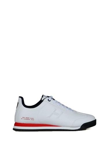 Hammer Jack Hammer Jack Sneaker Beyaz - Kırmızı Beyaz